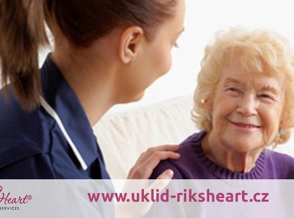 Ošetřovatelka, pečovatelské služby pro seniory v Praze