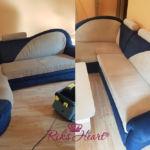 Čištění čalouněného nábytku